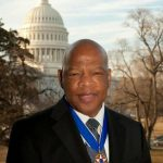 Rep John Lewis Metal of Freedom