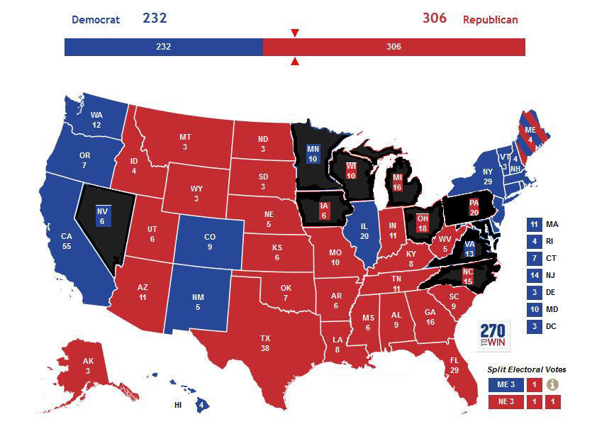 Swing states using crosscheck